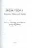 INDIA TODAY: ECONOMY, POLITICS AND SOCIETY