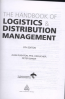 HANDBOOK OF LOGISTICS AND DISTRIBUTION MANAGEMENT, THE: UNDERSTANDING THE SUPPLY CHAIN (5ED)