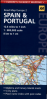 AA ROAD MAP EUROPE: SPAIN & PORTUGAL