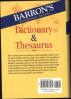 BARRON'S DICTIONARY & THESAURUS