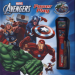 AVENGERS POWER PLAY WITH FLASHLIGHT PROJECTOR