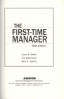 FIRST-TIME MANAGER, THE: SIXTH EDITION