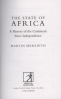 STATE OF AFRICA, THE: A HISTORY OF THE CONTINENT SINCE INDEPENDENCE