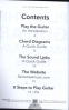 PLAY THE GUITAR MADE EASY: SOUND LINKS FOR CHORDS AND SCALES