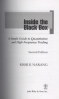 INSIDE THE BLACK BOX, 2ND EDITION: THE SIMPLE TRUTH ABOUT QUANTITATIVE TRADING