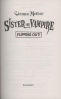 MY SISTER THE VAMPIRE 14: FLIPPING OUT!