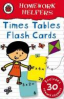 TIME TABLES FLASHCARDS