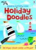 USBORNE ACTIVITY CARDS: HOLIDAY DOODLES
