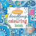 POCKET DOODLING AND COLOURING BOOK (BLUE)