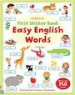 FIRST STICKER BOOK: EASY ENGLISH FRIST WORDS