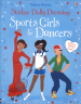 STICKER DOLLY DRESSING: SPORTS GIRLS AND DANCERS