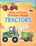 MAKE A PICTURE STICKER BOOK: TRACTORS