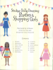 STICKER DOLLY DRESSING PARTIES & SHOPPING GIRLS