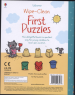 FIRST PUZZLES (WIPE CLEAN BOOKS)