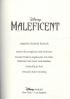 MALEFICENT (NOVELIZATION)