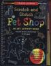 SCRATCH AND SKETCH TRACE-ALONG: PET SHOP