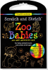 ZOO BABIES TRACE-ALONG SCRATCH AND SKETCH KIT
