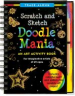 DOODLE MANIA SCRATCH AND SKETCH TRACE-ALONG