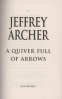 QUIVER FULL OF ARROWS, A