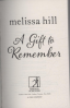 GIFT TO REMEMBER, A