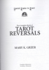 COMPLETE BOOK OF TAROT REVERSALS, THE
