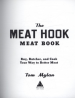 MEAT HOOK MEAT BOOK, THE