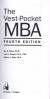 VEST-POCKET MBA, THE