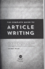 COMPLETE GUIDE TO ARTICLE WRITING