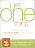 JUST ONE THING: DEVELOPING A BUDDHA BRIAN ONE SIMPLE PRACTICE AT A TIME