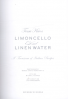 LIMONCELLO AND LINEN WATER