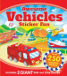 AWESOME VEHICLES STICKER FUN