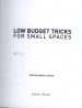 LOW BUDGET TRICKS FOR SMALL SPACES