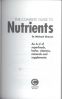 COMPLETE GUIDE TO NUTRIENTS, THE