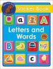 STICKER BOOK LETTERS AND WORDS
