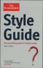 ECONOMIST STYLE GUIDE, THE