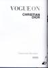 VOGUE ON DESIGNERS: CHRISTIAN DIOR