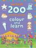 MY FIRST 200 COLOUR AND LEARN: ACTIVITY WORDS