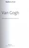 VINCENT VAN GOGH: MASTER OF ART